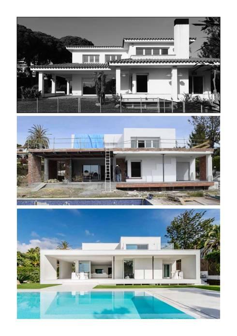 Projekty, nowoczesne Domy zaprojektowane przez Simon Garcia | arqfoto
