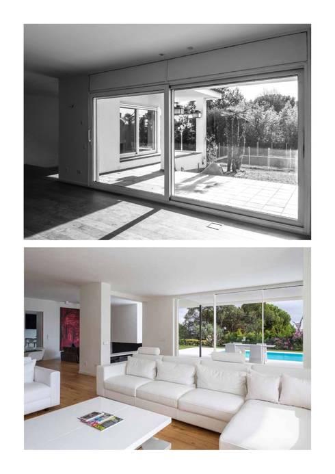 غرفة المعيشة تنفيذ Simon Garcia | arqfoto