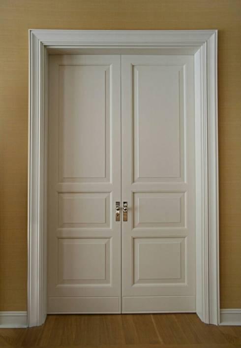 Двери межкомнатные: Окна и двери в . Автор – URBAN wood
