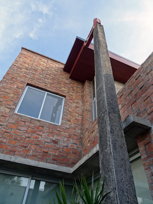 Casas de estilo  por Prece Arquitectura