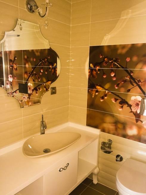 YASEMİN ALTINOK MİMARLIK – F.Ö. Evi:  tarz Banyo