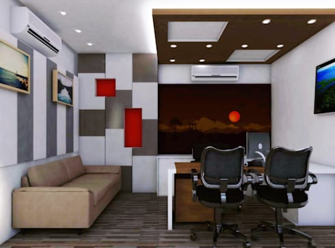 Chief Cabin:   by Izza Architects & Interior designers