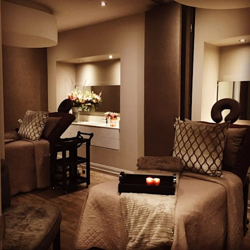 Couples Treatment Room: classic Spa by GSI Interior Design & Manufacture