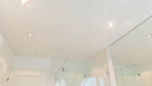 spanndecke - bad duschkabine by mettner raumdesign | homify, Hause ideen
