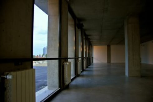 Edifício para Internato Feminino no Colégio Militar em Lisboa:   por Norasil - Sociedade de Construção Civil, S.A.