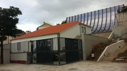 Núcleo Museológico do Vinho em São João da Pesqueira:   por Norasil - Sociedade de Construção Civil, S.A.