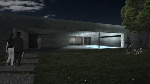 Casa Lamego: Casas modernas por Lousinha Arquitectos