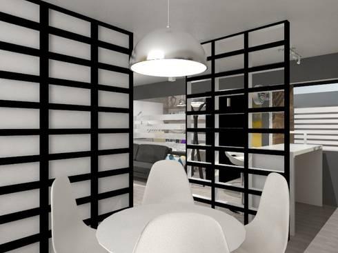 COMEDOR: Comedores de estilo minimalista por AurEa 34 -Arquitectura tu Espacio-