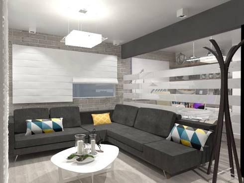 SALA: Salas de estilo minimalista por AurEa 34 -Arquitectura tu Espacio-