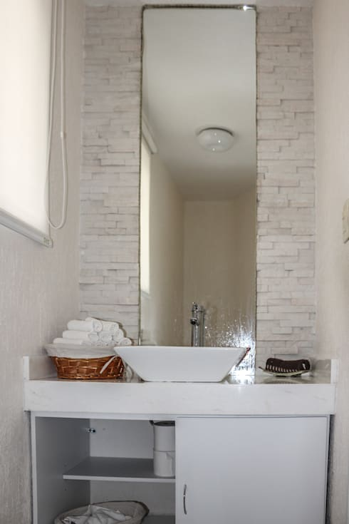 Projekty,  Łazienka zaprojektowane przez Spazio3Design