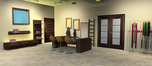 Some of The Completed Projects:  Commercial Spaces by BEYOND IMAGINATION INTERIORS