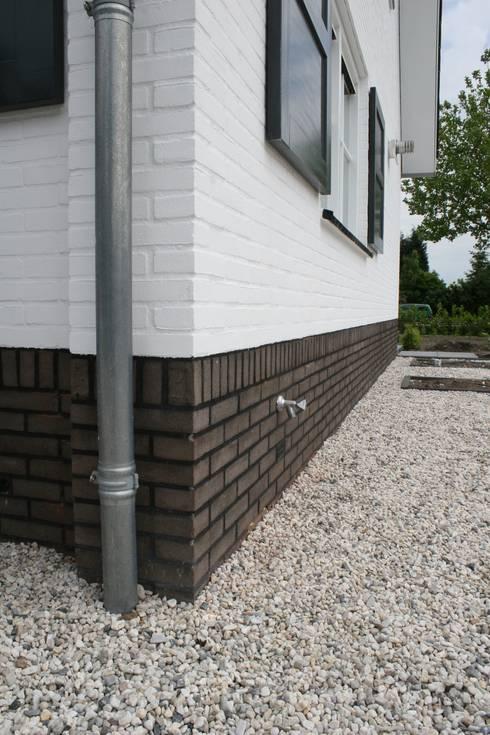 Projekty, wiejskie Domy zaprojektowane przez Brand BBA I BBA Architecten