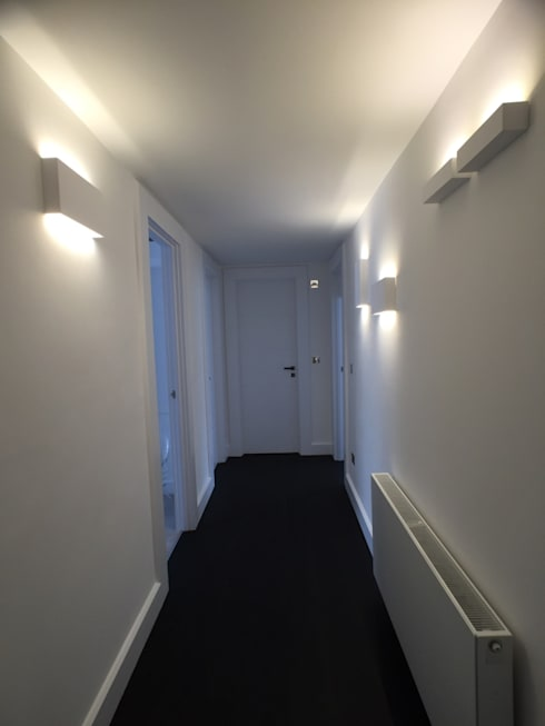 Corridor & hallway by Progressive Design London