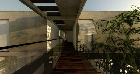 Casa Habitación:  de estilo  por idA Arquitectos