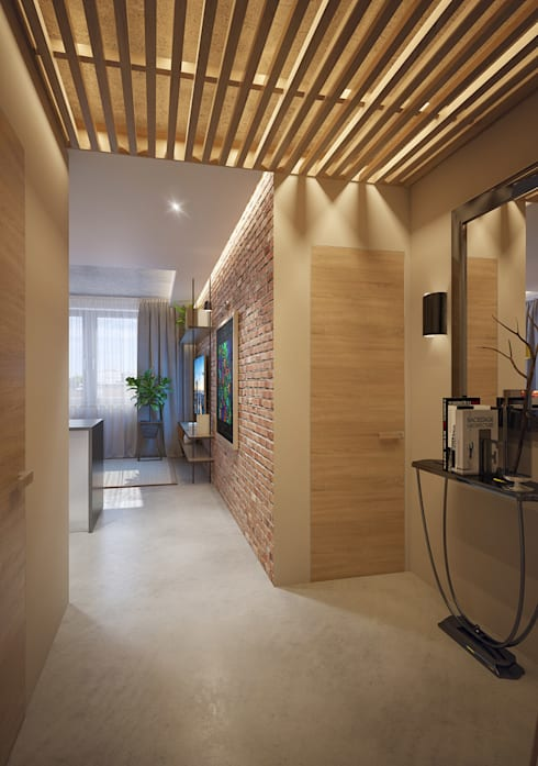 Corridor & hallway by Natalia Solo Design