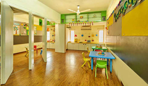 class rooms: modern Nursery/kid's room by iSTUDIO Architecture