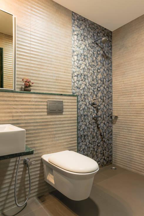 master toilet: rustic Bathroom by iSTUDIO Architecture