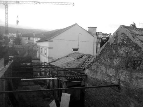 Vista desde Sul - Antes:   por Arq. Duarte Carvalho