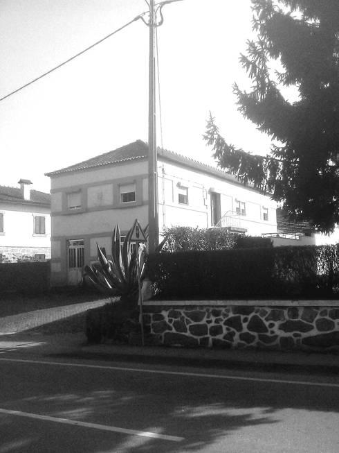 Vista desde a Estrada Nacional - Antes:   por Arq. Duarte Carvalho
