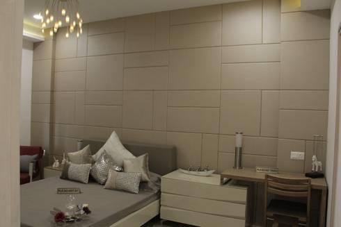 Shanker Greens, Agra: modern Bedroom by INFINITY