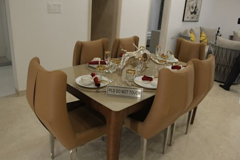Shanker Greens, Agra: modern Dining room by INFINITY