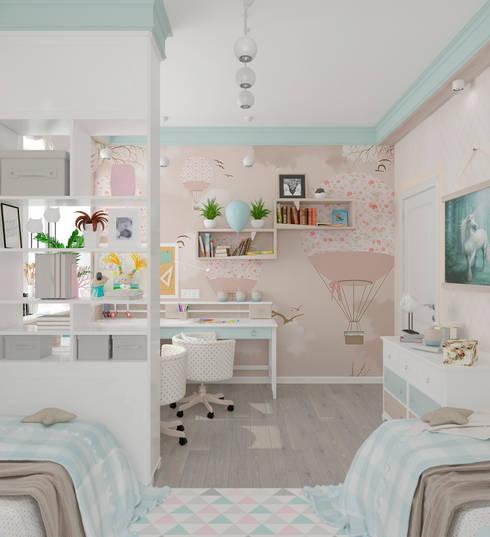 """Детская """"Room of wonders"""" vol. 2: Детские комнаты в . Автор – Студия дизайна Дарьи Одарюк"""