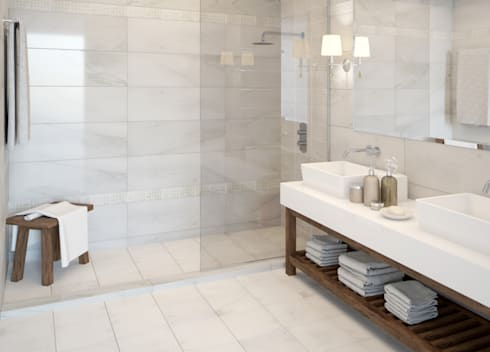 Natural Neutral Tiles By The London Tile Co Homify