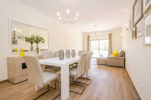 Turn Key Project – Apartment in Albufeira: Sala de jantar  por Simple Taste Interiors