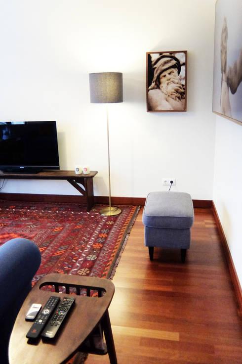 Sala Comum - zona de estar: Salas de estar modernas por maria inês home style