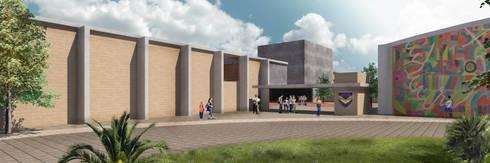 Instituto Bilingüe Victoria:  de estilo  por Studio de Arquitectura y Ciudad