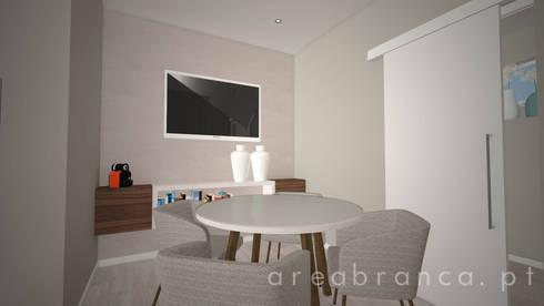 Sala de Reuniões: Clínicas  por Areabranca