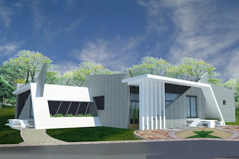 Projects—Residential: minimalistic Houses by Jehovah Nissi Archfirm