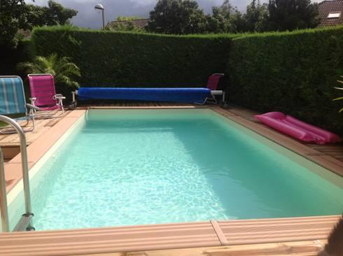 constructions de piscines por annecy piscines services homify. Black Bedroom Furniture Sets. Home Design Ideas