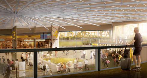 Terminal Terrestre Cascajal:  de estilo  por Célula Visual