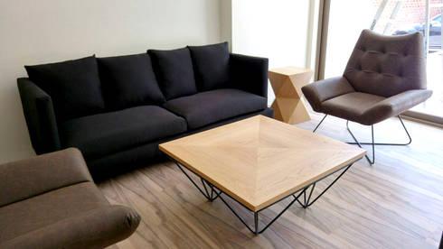 Cosmocrat: Salas de estilo moderno por Interia Muebles