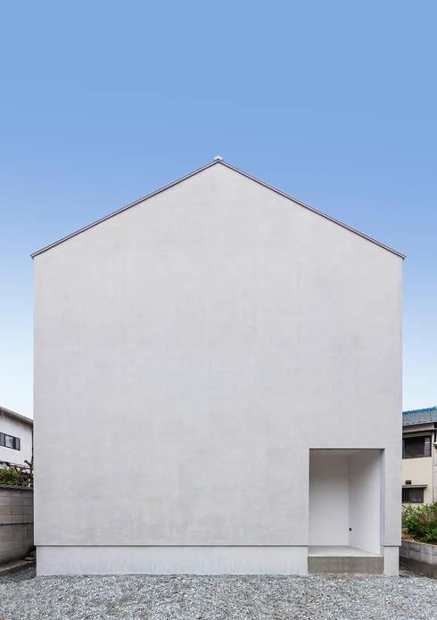 Projekty,  Domy zaprojektowane przez 中村建築研究室 エヌラボ(n-lab)
