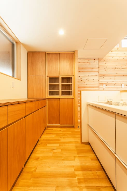 浅野翼建築設計室의  주방