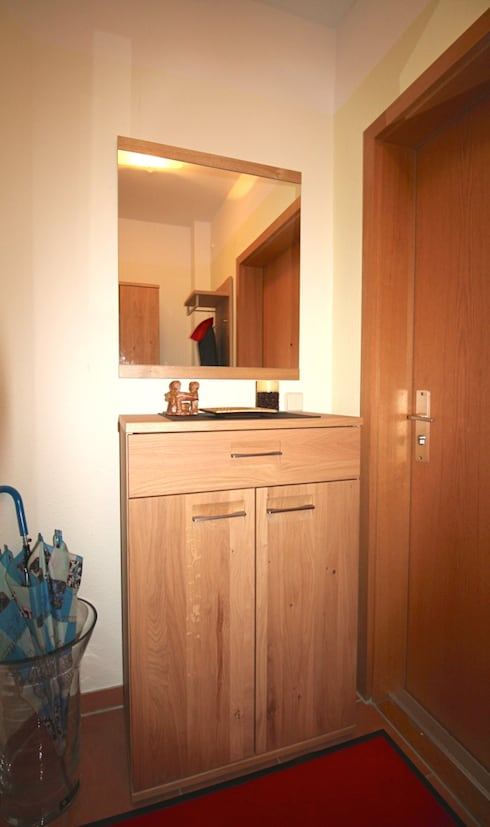 gestaltung flur diele mini diele von darr immobilien wohnkonzepte homify. Black Bedroom Furniture Sets. Home Design Ideas