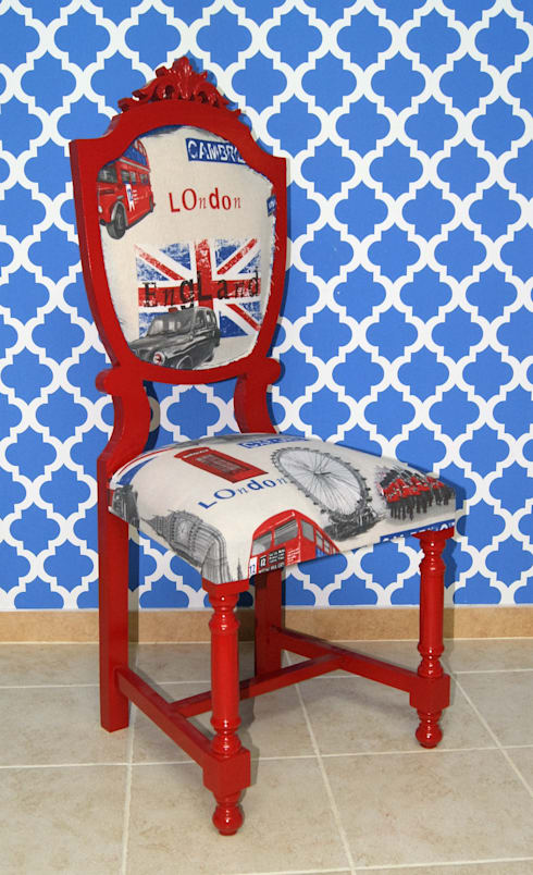 Chair «Lady in Red»:   por Shanna's Stuff