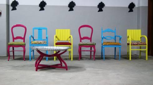Projecto Cadeiras «Senses Clinic- Fátima»:   por Shanna's Stuff