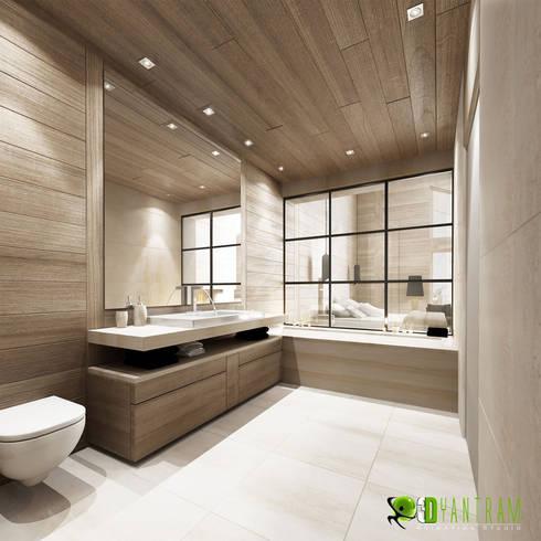 Bathroom 3d interior design by architectural design studio for Bathroom interior design 3d