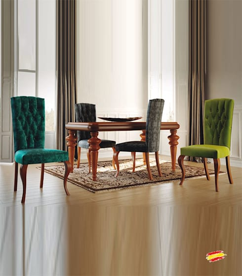 Sillas isabelinas 20 propuestas para decorar todo tipo de for Isabelinas modernas