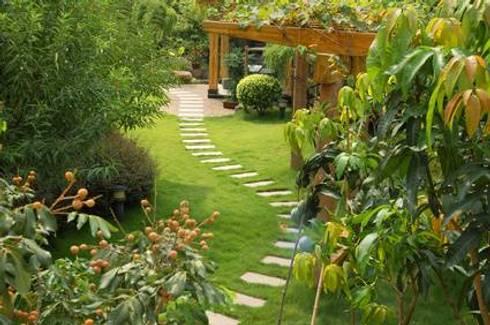 entree de jardin feng shui
