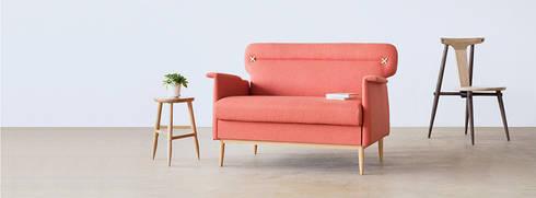 Living Room: modern Living room by EMOH Modern Furniture Store HK
