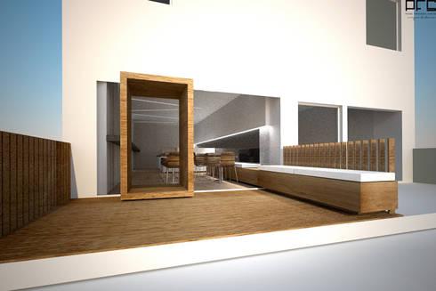 PASTELARIA MINIMUM_V.N. FAMALICÃO_2009: Espaços de restauração  por PFS-arquitectura
