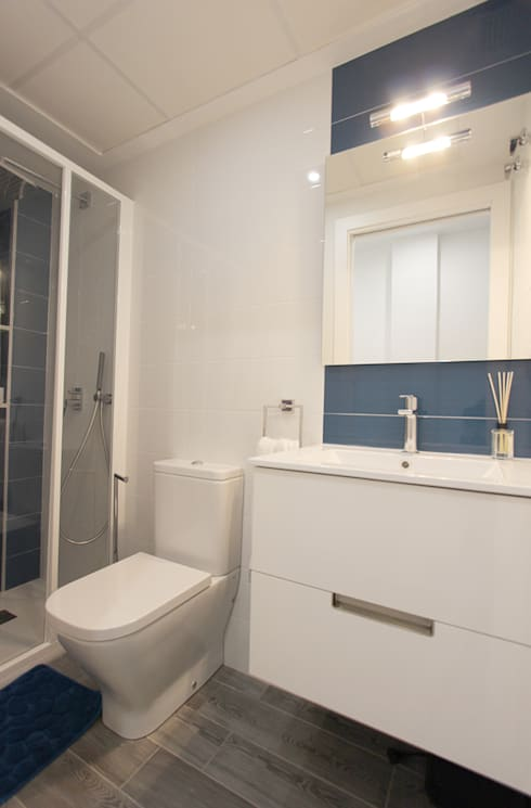 Ванные комнаты в . Автор – Novodeco