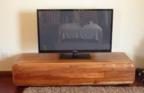 TV unit: modern Living room by GreenCube Design Pty Ltd