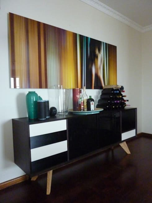 Drinks cabinet: modern Dining room by GreenCube Design Pty Ltd