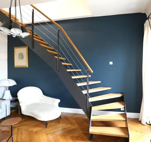 Escalier ambiance LOFT par Passion Bois   homify