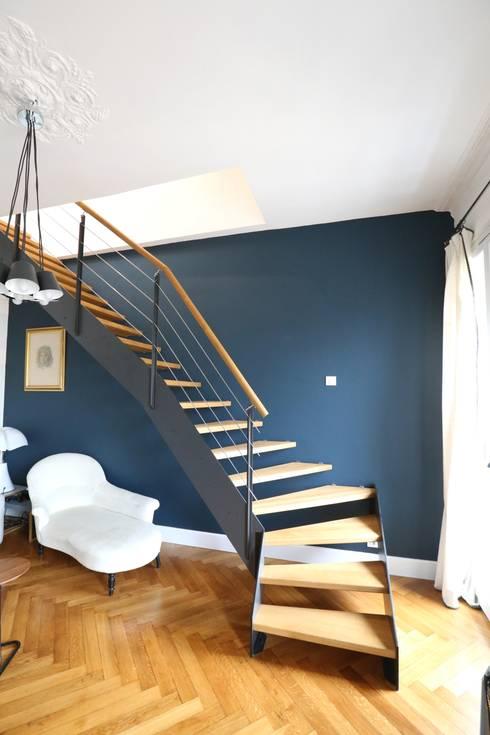 Escalier ambiance LOFT par Passion Bois | homify